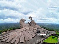 بزرگترین مجسمه پرنده جهان اینجاست
