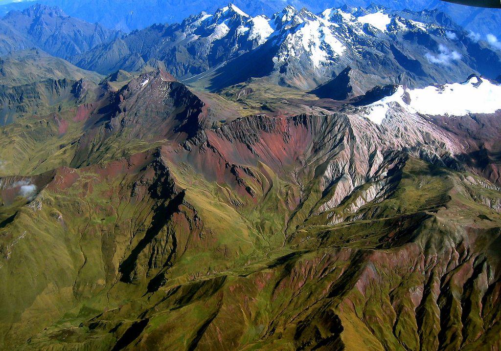 کوه های آندس پرو