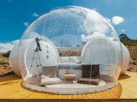 هتل های حبابی جهان