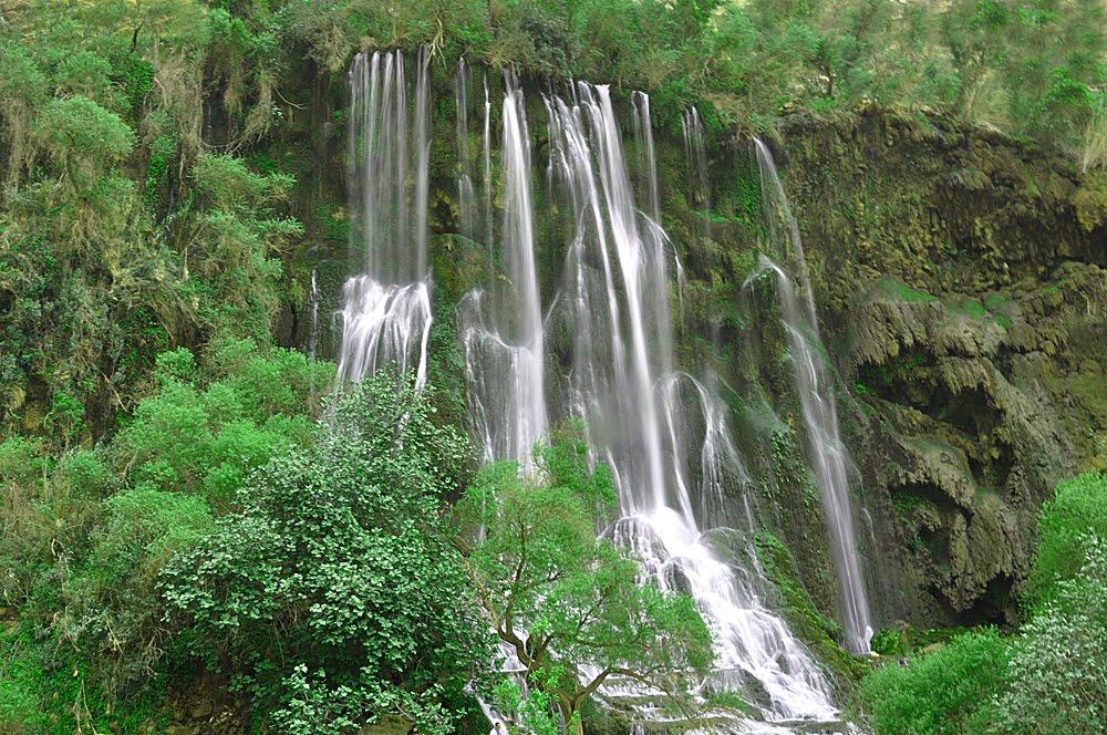 تفریحات در منطقه آبشار شوی