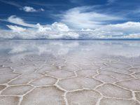 بزرگترین صحرای نمکی جهان